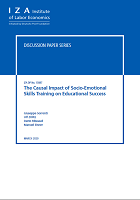 The causal impact of socio-emotional skills training on educational success