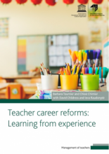 Teacher career reforms: learning from experience