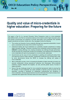 n°40 - septembre 2021 - Quality and value of micro-credentials in higher education: preparing for the future