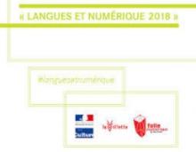Langues et numérique 2018