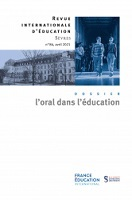 L'oral dans l'éducation : dossier
