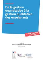De la gestion quantitative à la gestion qualitative des enseignants