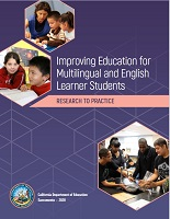 Improving Education for Multilingual and English Learner students : Research to Practice