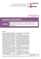 Évaluation du parcours d'intégration et du dispositif ISP dédiés aux primo-arrivants en Wallonie