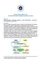 ARTICULATION LANGUE – DNL de l'analyse des besoins langagiers à leur prise en compte
