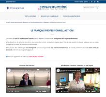Le français professionnel, action !