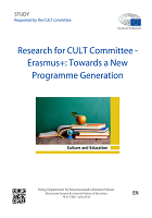 Research for cult committee - Erasmus+: towards a new programme generation