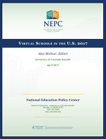 Virtual schools in the U.S 2017