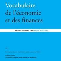 Vocabulaire de l'économie et des finances