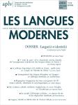 n° 4 - décembre 2018 - Langue(s) et identité(s) : dossier