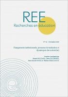 Changements institutionnels, processus de traduction et dynamiques des acteurs(es) : dossier
