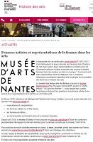 Femmes artistes et représentations de la femme dans les arts