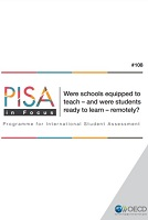 n° 108 - septembre 2020 - Were schools equipped to teach – and were students ready to learn – remotely?
