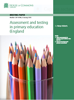 Assessment and testing in primary education in England