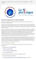 Nouveau vade-mecum des sections bilingues