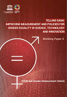 Telling SAGA: improving measurement and policies for gender equality in science, technology and innovation