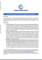 TVET systems' response to COVID-19: challenges and opportunities