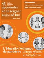 Vol. 10, n° 1 - automne 2020 - L'éducation en temps de pandémie : constats, réflexions et pistes d'action