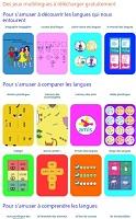 Jeux multilingues