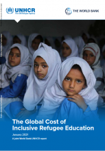 The global cost of inclusive refugee education