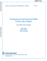 Developing social-emotional skills for the labor market : the PRACTICE model
