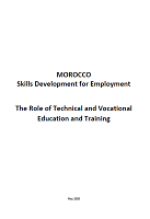 Morocco: skills development for employment: the role of technical and vocational education and training
