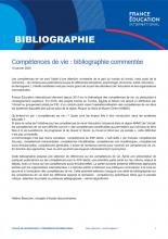 Compétences de vie : bibliographie commentée