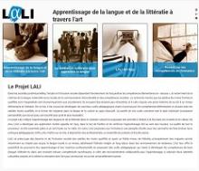 Projet LALI - Apprentissage de la langue et de la littératie à travers l'art