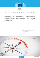 Mapping of European transnational collaborative partnerships in higher education