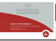 Cadre de performance du suivi de la vision stratégique à l'horizon 2030 : niveau national 2015-2018
