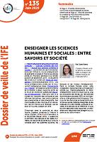 Enseigner les sciences humaines et sociales : entre savoirs et société