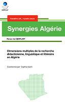 n° 28 - 2020 - Dimensions multiples de la recherche didacticienne, linguistique et littéraire en Algérie