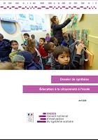 Education à la citoyenneté à l'école : politiques, pratiques scolaires et effets sur les élèves