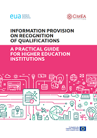Information provision on recognition of qualifications: a practical guide for higher education institution