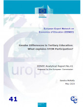 Gender differences in tertiary education : what explains STEM participation ?