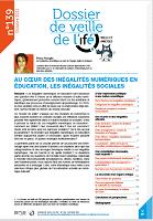 Au coeur des inégalités numériques en éducation, les inégalités sociales