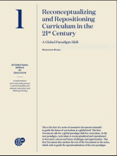 Reconceptualizing and repositioning curriculum in the 21st century : A global paradigm shift