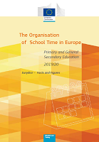 The organisation of school time in Europe: primary and general secondary education - 2019/20