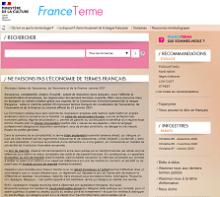 Ne faisons pas l'économie de termes français