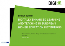Digitally enhanced learning and teaching in European higher education institutions