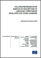 Collated representative samples of descriptors of language competences developed for young learners: resource for educators: volume 2: ages 11-15