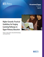 Higher grounds: practical guidelines for forging learning pathways in upper primary education