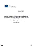 Communication de la Commission au Parlement européen, au Conseil, au Comité économique et social européen et au Comité des régions concernant le plan d'action en matière d'éducation numérique