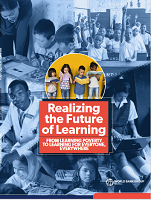 Realizing the future of learning: from learning poverty to learning for everyone, everywhere