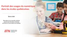 Portrait des usages du numérique dans les écoles québécoises