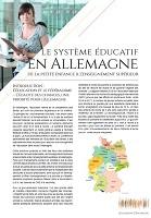 Le système éducatif en Allemagne de la petite enfance à l'enseignement supérieur