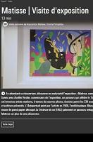 Matisse comme un roman - visite virtuelle de l'exposition