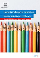 Towards inclusion in education: status, trends and challenges: the Unesco Salamanca statement 25 years on