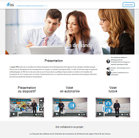 IFos, la plateforme de l'enseignement du français professionnel