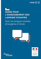 Guide pour l'enseignement des langues vivantes : oser les langues vivantes étrangères à l'école